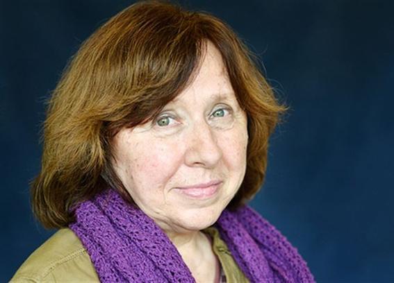 Νόμπελ Λογοτεχνίας 2015: Σβετλάνα Αλεξίεβιτς
