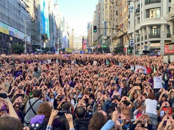 Μαδρίτη, 7 Νοέμβρη: Μια ιστορική συγκέντρωση ενάντια στηνέμφυληβία