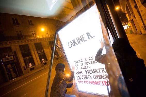 Οι φεμινίστριες στο Παρίσι έδωσαν όνομα στους αόρατους φόνους: Γυναικοκτονία!