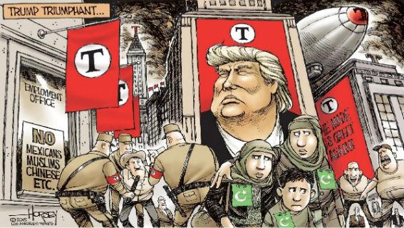 Γιατί ο Τραμπ αποτελεί φασιστικό φαινόμενο